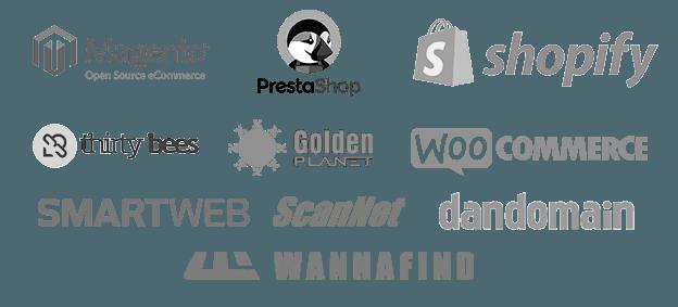 Integration med webshop platforme